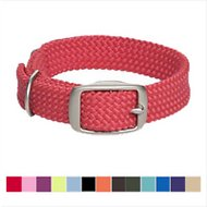Mendota Products Double Braid Dog Collar, 18-inch, Red