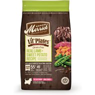 Merrick Lil' Plates Real Lamb & Sweet Potato Recipe Grain-Free Dry Dog Food, 4-lb bag