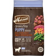 Merrick Real Beef & Sweet Potato Recipe Grain-Free Puppy Dry Dog Food, 25-lb bag