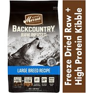 Merrick Backcountry Raw Infused Large Breed Recipe Dry Dog Food, 12-lb bag