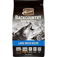 Merrick Backcountry Raw Infused Large Breed Recipe Dry Dog Food, 22-lb bag