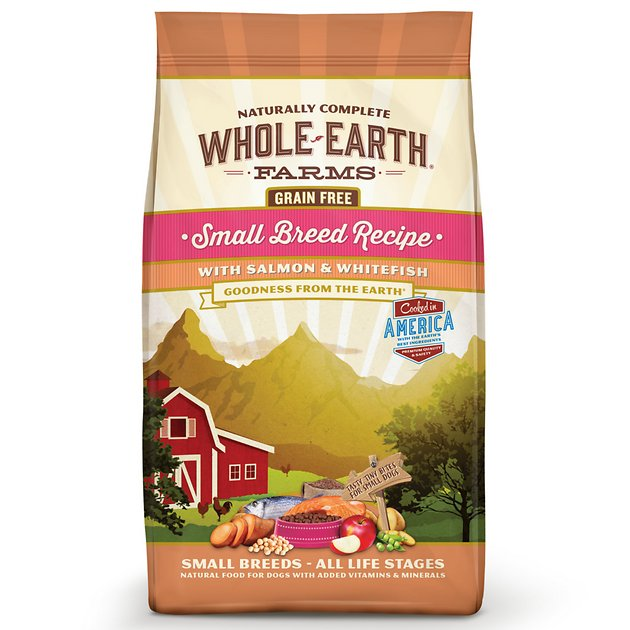 Whole Earth Farms Small Breed Recipe Salmon Amp Whitefish