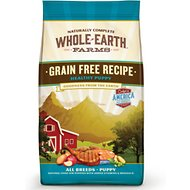 Whole Earth Farms Healthy Puppy Recipe Grain-Free Dry Dog Food, 25-lb bag