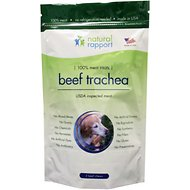 Natural Rapport Beef Trachea Dog Treats, 3 count