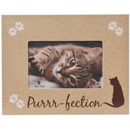 "Dog Speak ""Purrr-Fection"" Cat Picture Frame, 4 x 6 inches"