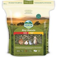 Oxbow Western Timothy and Orchard Hay Small Animal Food, 90-oz bag
