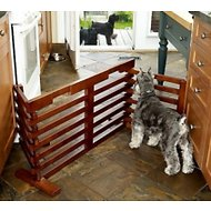 Merry Products Gate-n-Crate Folding Convertible Dog & Cat Gate, 29-in