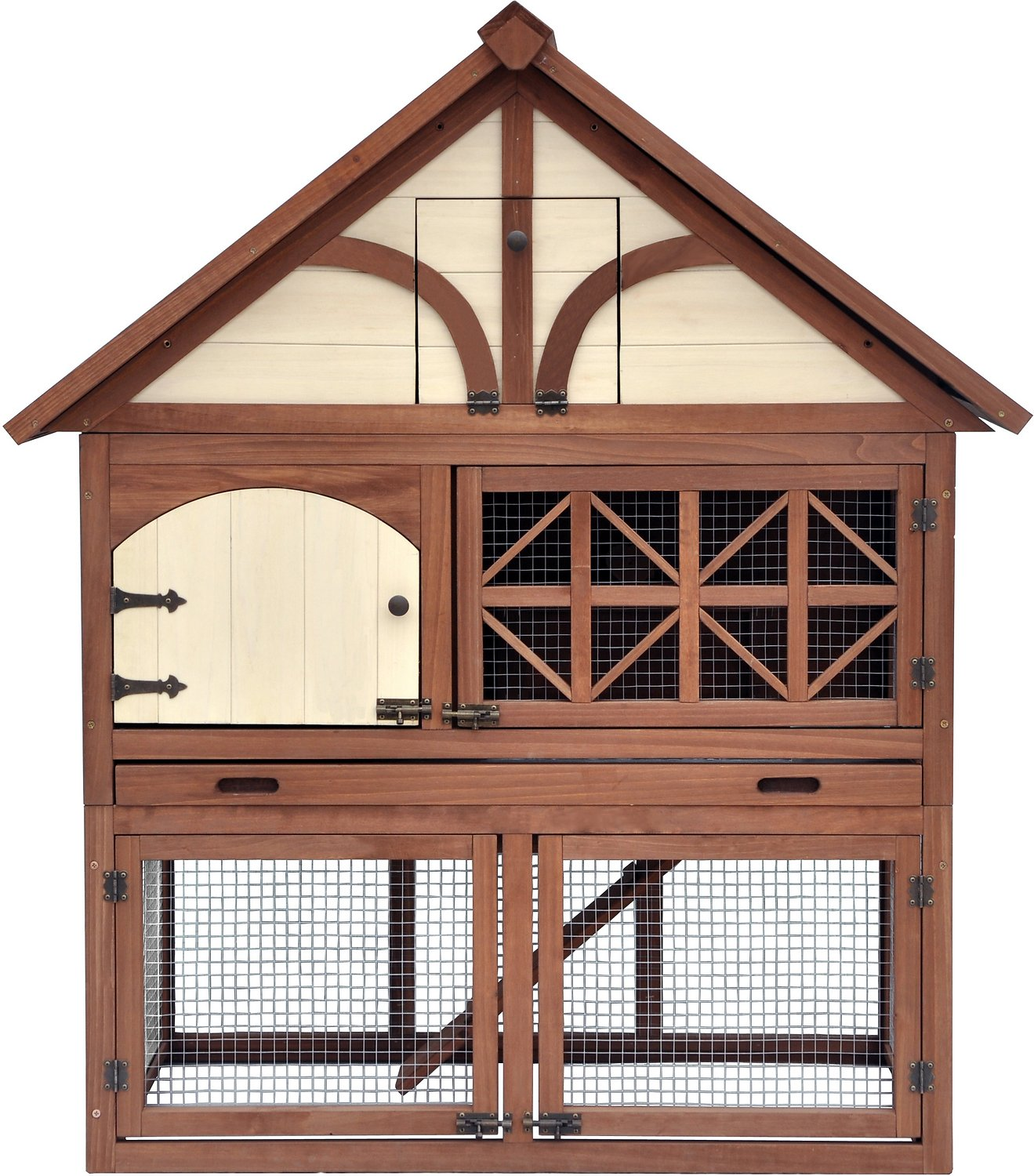 Merry Products Tudor Decorative Rabbit Hutch Chewy Com