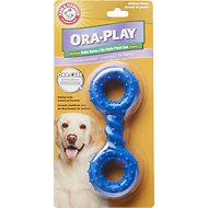 Arm & Hammer Dental Ora Play Dental Halo Bone Chicken Flavor Dog Toy