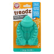 Arm & Hammer Dental Super Treadz Dental Dog Toy, Gorilla