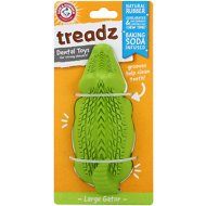 Arm & Hammer Dental Super Treadz Dental Dog Toy, Gator