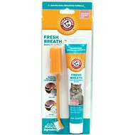 Arm & Hammer Dental Fresh Breath Cat Dental Kit, Tuna Flavor, 2.5-oz tube
