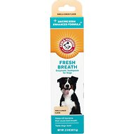 Arm & Hammer Dental Enzymatic Dog Toothpaste, Vanilla-Ginger Flavor, 2.5-oz tube