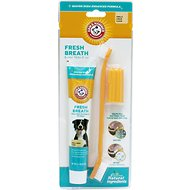 Arm & Hammer Dental Advanced Care Dog Dental Kit, Vanilla-Ginger Flavor, 2.5-oz tube