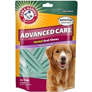 Arm & Hammer Dental Oval Dog Chews, Mint Flavor, 6.5-oz bag