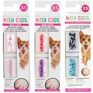 Kitty Caps Cat Nail Caps, Color Varies, 40 count, X-Small