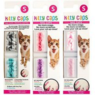 Kitty Caps Cat Nail Caps, Color Varies, 40 count, Small