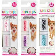 Kitty Caps Cat Nail Caps, Color Varies, 40-count, Medium