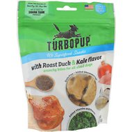 TurboPUP Roast Duck & Kale Dog Treats, 6-oz bag