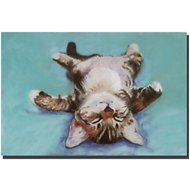 "Trademark Fine Art ""Little Napper"" by Pat Saunders Canvas Wall Art, 16 x 24 inches"