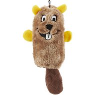 ZippyPaws Squeakie Buddie Beaver Plush Dog Toy
