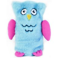 ZippyPaws Squeakie Buddie Owl Plush Dog Toy