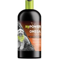 K9 POWER Omega Dog Healthy Coat & Skin Dog Supplement, 32-oz bottle