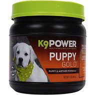 K9 POWER Puppy Gold Nutritional Dietary Puppy Supplement, 1-lb jar