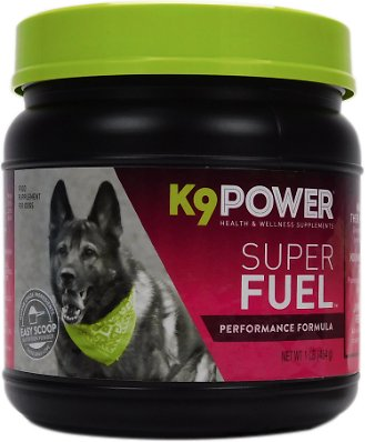 K9 POWER Super Fuel Nutritional Energy & Muscle Dog Supplement