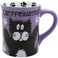 "Our Name is Mud ""CATffeinated"" Coffee Mug, 16-oz"