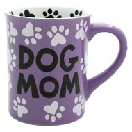 "Our Name is Mud ""Dog Mom"" Coffee Mug, 16-oz"