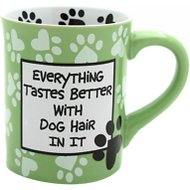 "Our Name is Mud ""Dog Hair"" Coffee Mug, 16-oz"