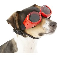 Doggles ILS Dog Goggles, Red, X-Small