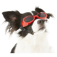 Doggles ILS Dog Goggles, Red, Small