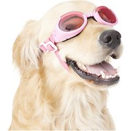 Doggles ILS Dog Goggles, Pink, Medium