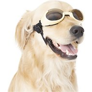 Doggles ILS Dog Goggles, Chrome, Medium