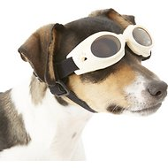 Doggles Originalz Dog Goggles, Chrome, X-Small