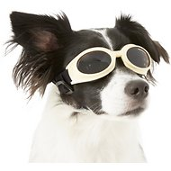 Doggles Originalz Dog Goggles, Small, Chrome