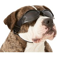 Doggles Originalz Dog Goggles, Black, Large