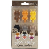 True Zoo Paws Off Glass Markers, Set of 6
