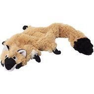 Doggles Plush Bottle Raccoon Dog Toy
