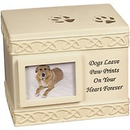 AngelStar Paw Prints Box Dog Urn