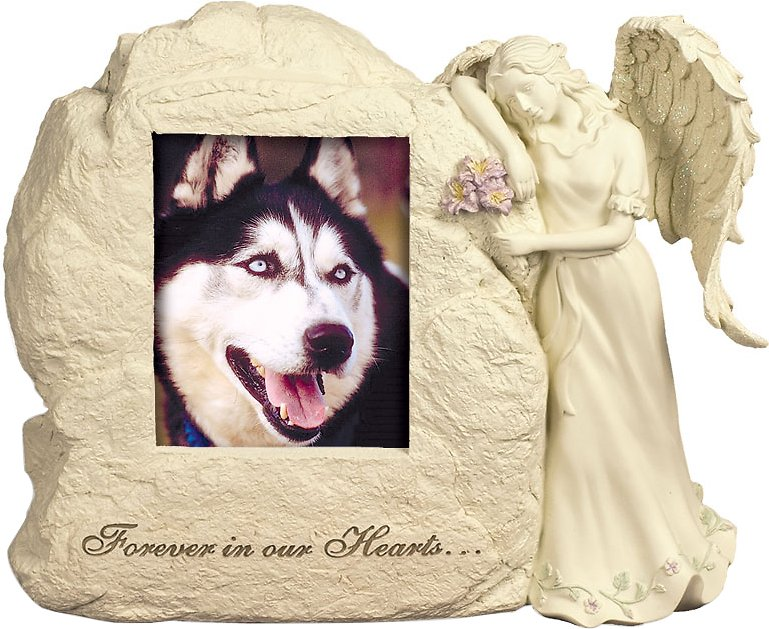 Angelstar Forever In Our Hearts Photo Frame Rock Pet Urn Chewycom