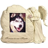 AngelStar Forever In Our Hearts Rock Dog, Cat, & Small Pet Urn