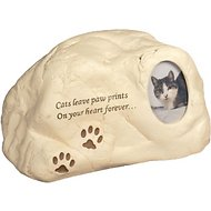 AngelStar Paw Prints Rock Cat Urn