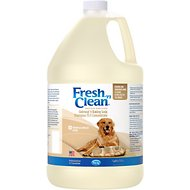 PetAg Fresh 'N Clean Oatmeal 'N Baking Soda 15:1 Concentrate Dog Shampoo, 1-gallon bottle, Tropical Breeze Scent