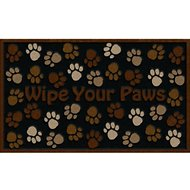 "Apache Mills CleanScrape ""Wipe Your Paws"" Doormat, 18 x 30 in."