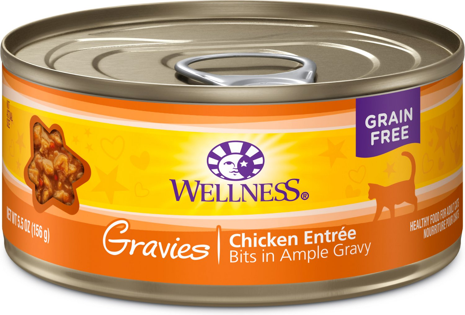 Wellness Natural Grain Free Gravies Chicken Dinner Canned