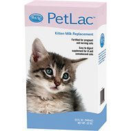 PetAg PetLac Kitten Milk Replacement Liquid, 32-oz bottle
