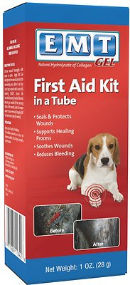 PetAg EMT First Aid Kit in a Tube Dog, Cat & Small Animal Gel, 1-oz bottle